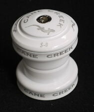 "CANE CREEK HEADSET BODY TOP CAP S8 S 8 S-8 28.6MM 1 1/8 "" NEW WHITE NO BEARINGS"