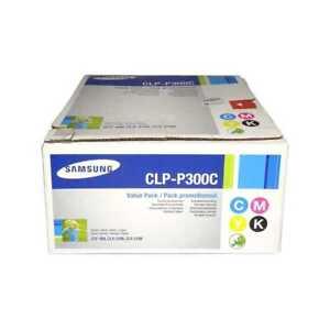 Samsung CLP-P300C Toner Value Pack 4 Farben für CLP-300 CLX-2160 CLX-3160N, OVP