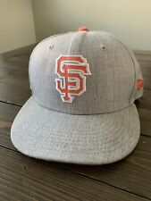 SF Giants 59fifty Grey Hat New Era 7 1/4 New Without Tags