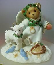 NIB Cherished Teddies Stella Touches Of Heaven Can Be Figurine 2000 Enesco