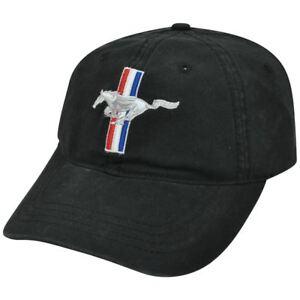Ford Mustang Racing Motor Company Horse Garment Wash Hat Cap Adjustable