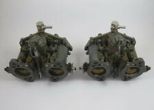 2 original Solex 40 PII-4 Vergaser Doppelvergaser Typ1 + Trichter + Ansaugrohre