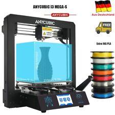 """Anycubic I3 Mega-S 3D Drucker Größerer Druckgröße 3,5""""TFT mit 2KG PLA EU Stock"""