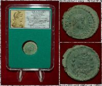 Ancient Roman Empire Coin GRATIAN VOT XX MVLT XXX Beautiful Coin!