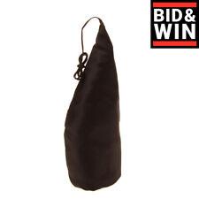 Rrp €275 Rick Owens Taffeta Big Horn Accessory Silk Blend Stiff Made in Italy