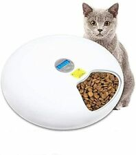 GOFUN Automatic Pet Feeder 6-Meal Food Dispenser with Programmable Digital Timer