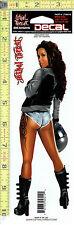 Urban Biker Girl Window Decal Sticker for Car/Truck/Motorcycle/Laptop 519