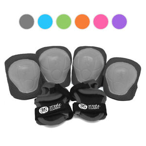 3StyleScooters® SafetyMAX® - Kids Safety Pads Set - Ages 3-7 - EN14120 Certified