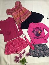 Mixed Lot Of 7 items Girls Size 14 Jacob Alexander,forever 21 Etc Shorts,tops.