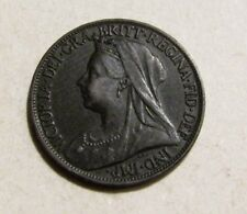 Great Britain 1901 Farthing Coin