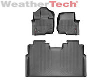 WeatherTech FloorLiner for Ford F-150 SuperCrew Bucket Seats 2015-2018 Carpet