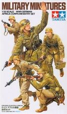 Tamiya Germam WWII Africa Corps Infantry Set Scala 1 35 Cod.35314