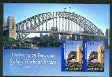 2007 Celebrating 75 Years of Sydney Harbour Bridge - MUH Mini Sheet
