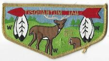 OA Lodge # 164 Tisquantum S-11 Gmy Bdr; 50th with Pin; Gmy Name (With 50th Pin)