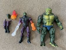 Marvel Legends SUPER SKRULL & ABOMINATION BAF Complete