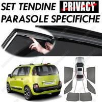 TENDINE PARASOLE SU MISURA OSCURANTI PRIVACY TENDINA AUTO CITROEN C3 PICASSO 5P