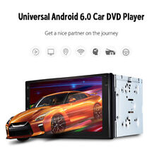 2 din car Android Stereo 6.0 7 inch GPS Navigation Radio Bluetooth Player