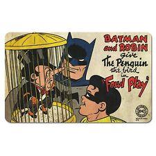 DC Comics - Vintage Frühstücksbrettchen -  Batman & Robin - Penguin