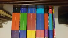 Harry Potter Series in Hardback European/Canadian version with Dust Covers