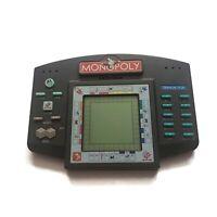 Vintage 1997 Monopoly Handheld Electronic Travel Talking LCD Video Game Hasbro