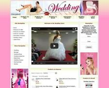 WEDDING STORE Complete Ready Made Affiliate Website Ebay+Amazon+Google+Dropship