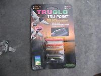 TruGlo TG957B Tru Point Wing & Clay Series Fiber Optic Sights .375 BRAND NEW
