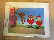 DISNEY ALICE IN WONDERLAND  PRODUCTION CEL MATCHING PROD BACKGROUND HAND PAINTED