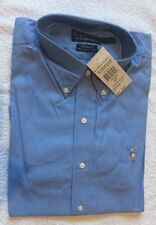 Ralph Lauren Button Down Yarmouth Oxford Shirt BNWT Blue Colour Size L
