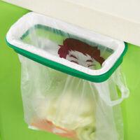Hanging Trash Garbage Rubbish Kitchen Carrier Plastic Bag Bin Sack Hanger Holder