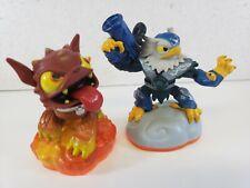 Giants Character Figure Skylanders Series 1 Jet Vac and Hot Dog Lot Video Games
