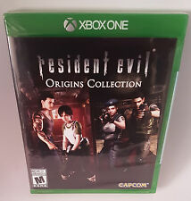 Resident Evil Origins Collection  Xbox One Factory Sealed!  NEW!  See Pictures!