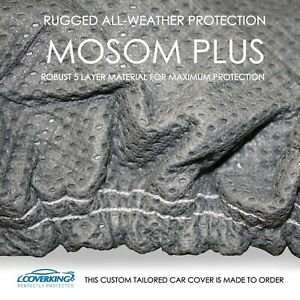 Aston Martin Rapide Car Cover - Coverking Mosom Plus - All Weather - Custom Fit