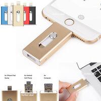 i Flash Drive USB U Disk Memory Stick OTG Thumb Pen for Android iPad iPhone MAC