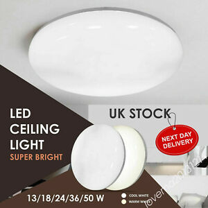 ⭐⭐LED Ceiling Lights Round Panel Down Light Living Room Kitchen Bathroom MA