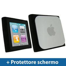 Cover e custodie nera in silicone, gomma per lettori MP3 Apple