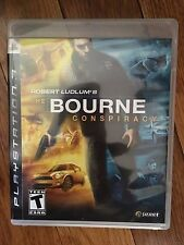 Robert Ludlum's The Bourne Conspiracy (Sony PlayStation 3  2008) Complete