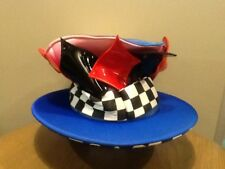 Disney Parks Alice in Wonderland Mad Tea Party Big Top Hat Retired Mad Hatter