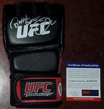 RAFAEL CORDEIRO SIGNED AUTO'D PSA/DNA MMA UFC GLOVE KINGS COACH WERDUM DOS ANJOS
