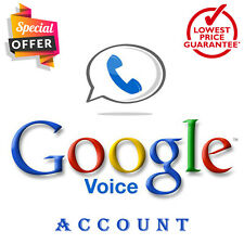 USA Google Voice Number Can Make or Receive Calls / SMS 100% free for lifetime