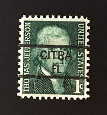 Citra, Florida Precancel - 1 cent Jefferson (U.S. #1278) MNH - FL