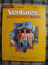 Ventures BASIC WORKBOOK with Audio CD 2nd Edition NEW Paperback