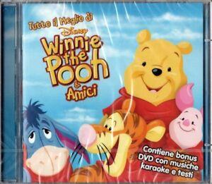 TUTTO IL MEGLIO DI WINNIE THE POOH & AMICI - CD+DVD DISNEY NUOVO SIGILLATO RARO