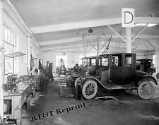 Photograph of the County Auto Repair Shop Rockville Maryland Year 1926 11x14