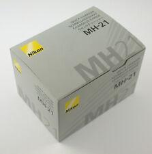 NIKON original MH-21 Lagegerät charger MH21 EN-EL4 EN-EL4a NEW Brand NEU