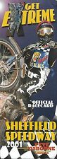 Speedway Programme>SHEFFIELD PROWLERS v SOMERSET REBELS May 2001