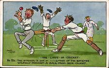 Cricket Pre - 1914 Printed Collectable Sport Postcards