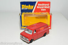 DINKY TOYS 410 BEDFORD AA VAN ROYAL MAIL MINT BOXED