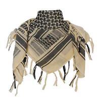 Tactical Arab Scarf Military Desert Shemagh Army Keffiyeh Head Wrap Cotton Shawl
