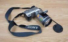 Genuine Sony (DSC-F707)  MPEGMovie EX Night Framing / Shot Digital Camera *READ*