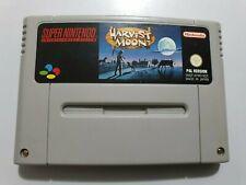 HARVEST MOON Super Nintendo SNES Pal NOE  SOLO CARTUCHO Leer Info!